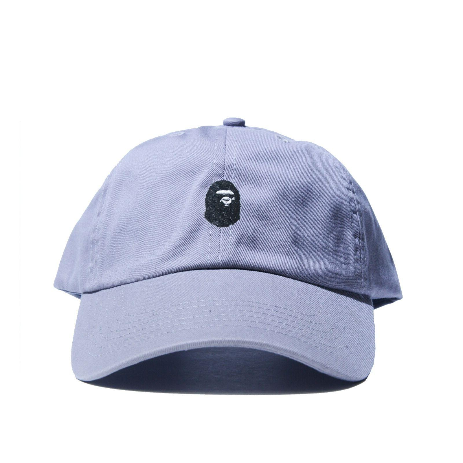 """BAPE"" Embroidered Dad Hat (BATHING APE supreme AAPE unsturctured"