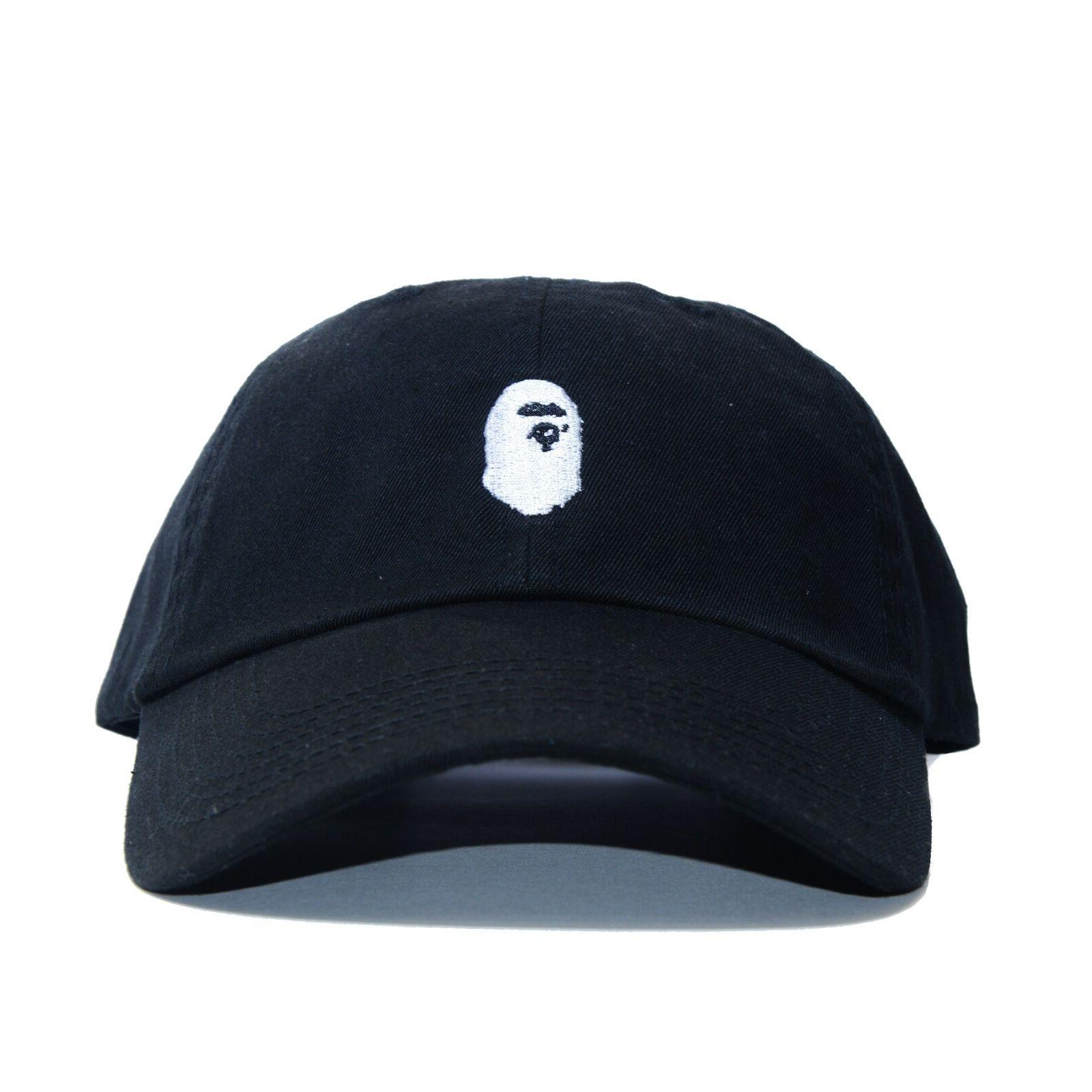 """BAPE"" (BATHING APE HEAD AAPE unsturctured ALL COLOR"