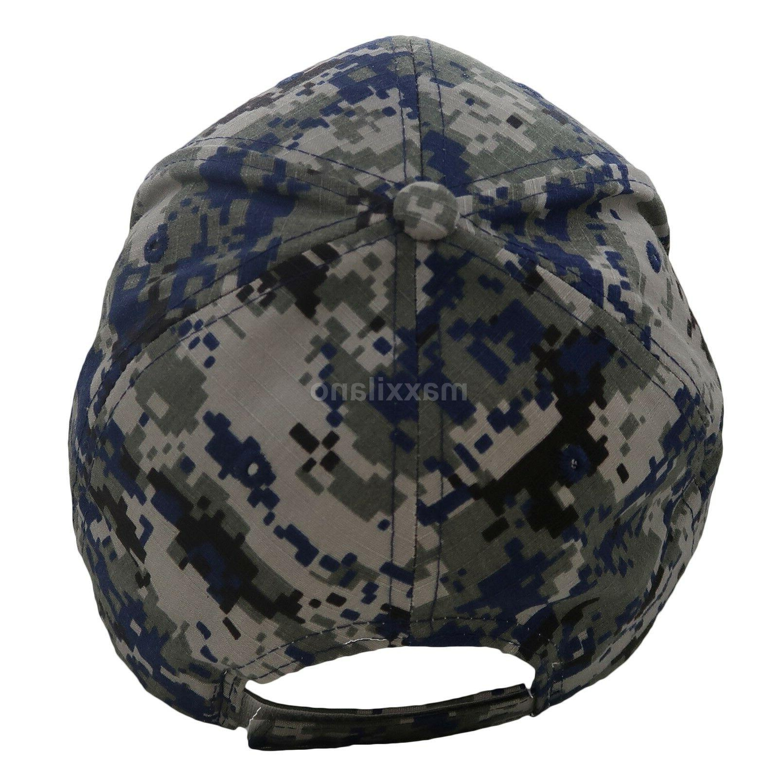 Baseball Cap Mens Tactical Army Military Hat USA Mesh