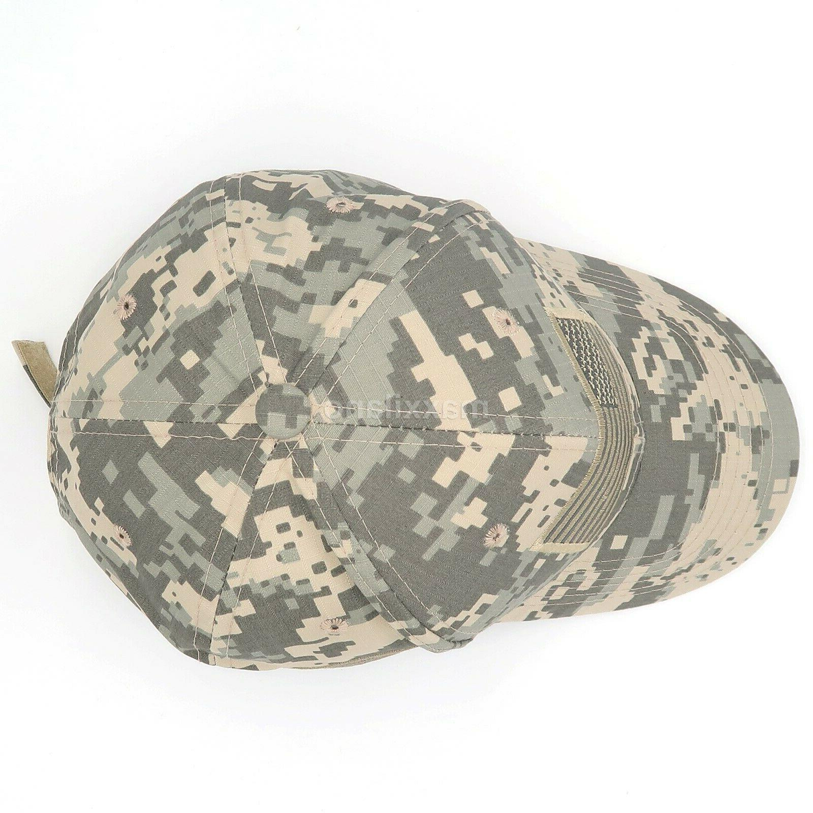 Baseball Mens Tactical Army Cotton Hat Mesh