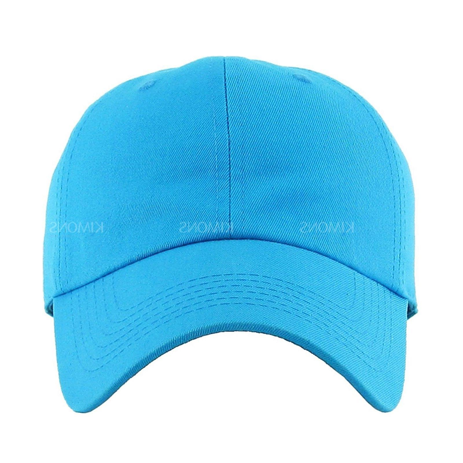 Cotton Plain men women Visor Ball Hat polo