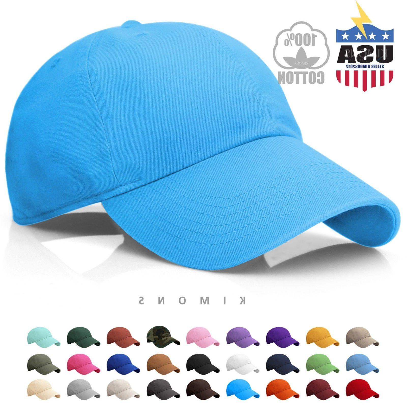 Cotton Baseball Solid Plain men Visor Ball polo