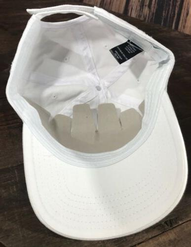 Disney Chip Dad white Hat Adjustable NWT OSFA Velcro