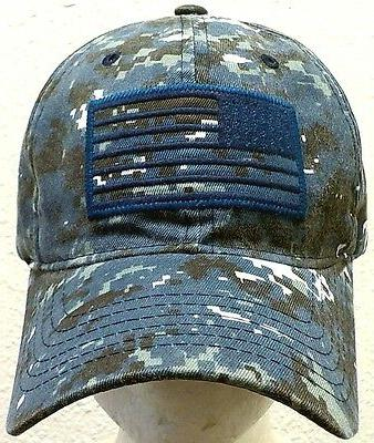 BLUE CAMO TACTICAL FORCE OPERATOR AMERICA POLO COTTON PATCH