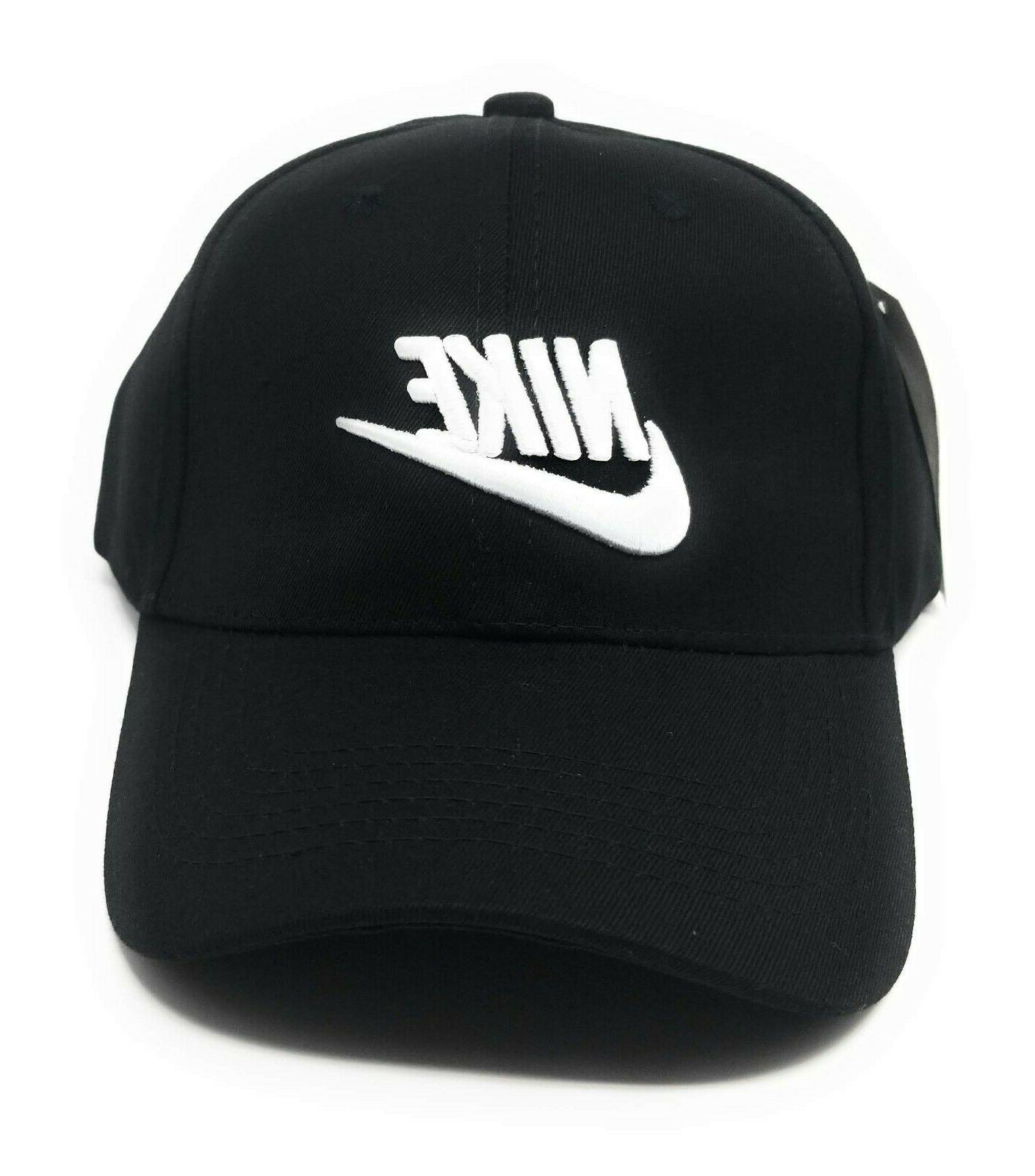 Brand Swoosh Adjustable Size Dad