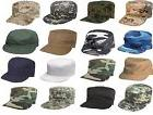 Camouflage & Solids Military Patrol Hat Fatigue Cap Army Nav