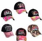 Women's Pink Camo Hat Country Muddy Southern Girl Hunt Deer