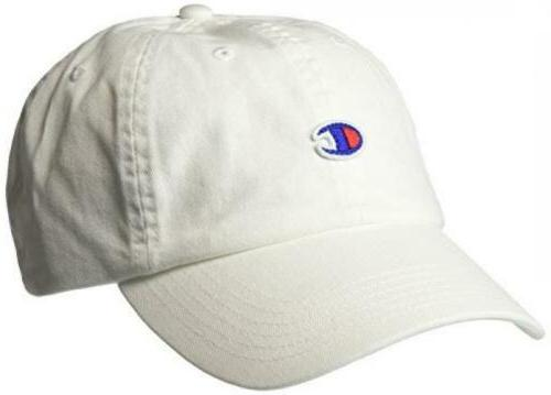Champion Men's Father Adjustable Cap One White