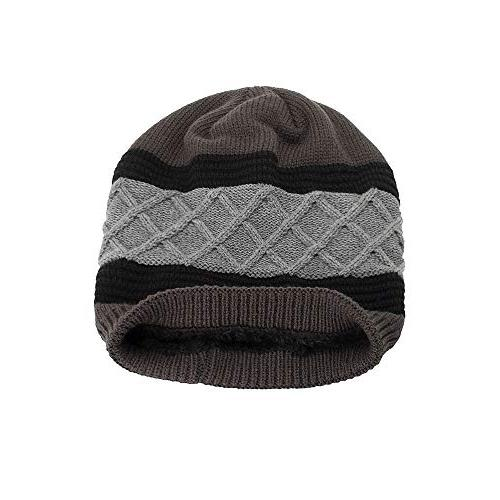 NRUTUP Warm Oversized Soft Oversized Knit Slouchy Beanie,Clearance Deals!