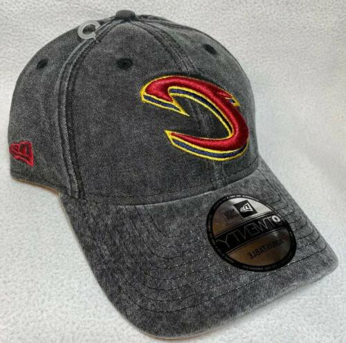 Cleveland Cavaliers Cap New Era Dad Hat Washed Gray Cavs