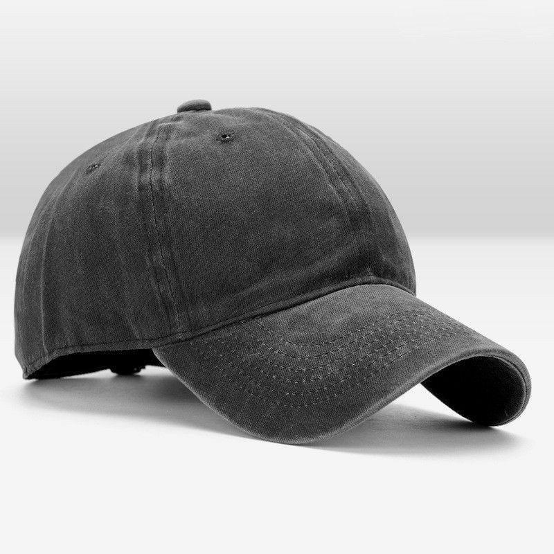 Cotton Baseball Blank Visor Caps