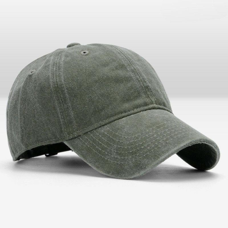 Cotton Baseball Cap Hat Style Plain Blank Dad Hats Caps