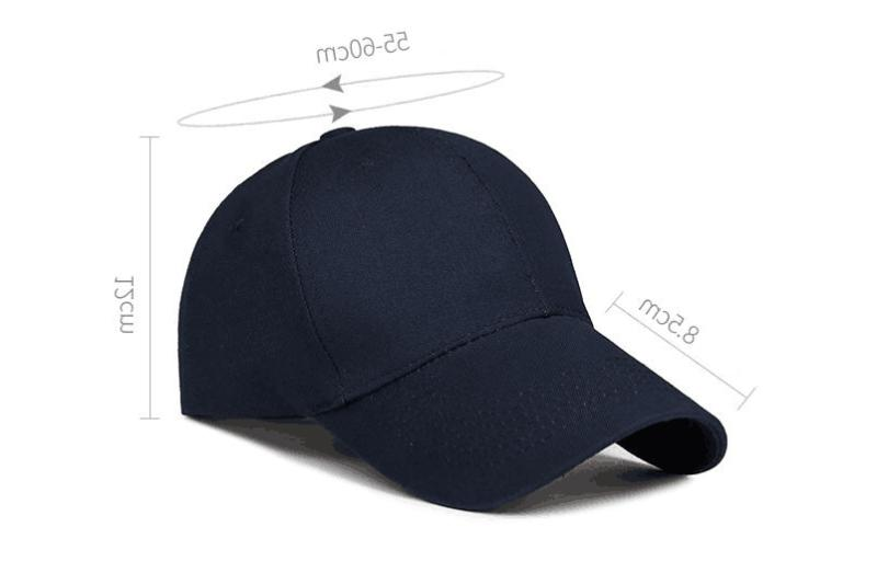 Cotton Cap Washed Polo Adjustable Mens Hats