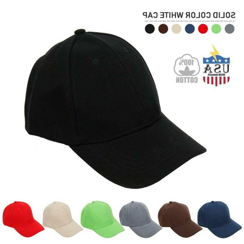 cotton baseball cap washed polo style hat