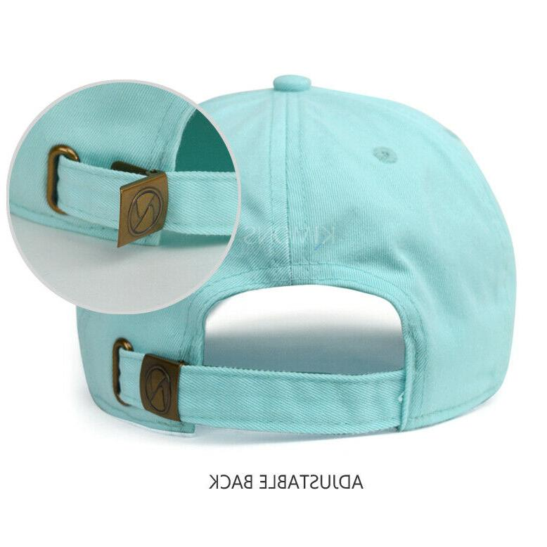 Cotton Hat Style Washed Dad