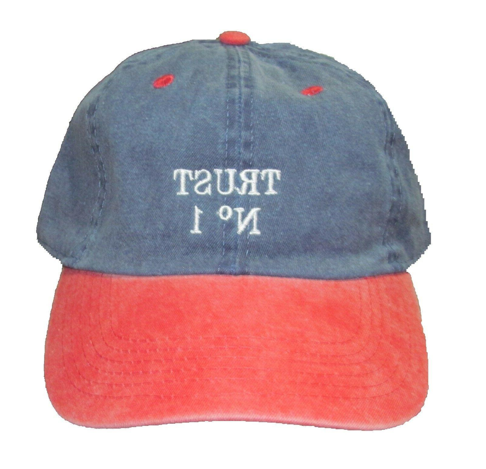 Dad Baseball caps Trust Twill & two tone colors