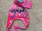 DC Superhero Hat, gloves set Girls NWT girls one size 4-14 W