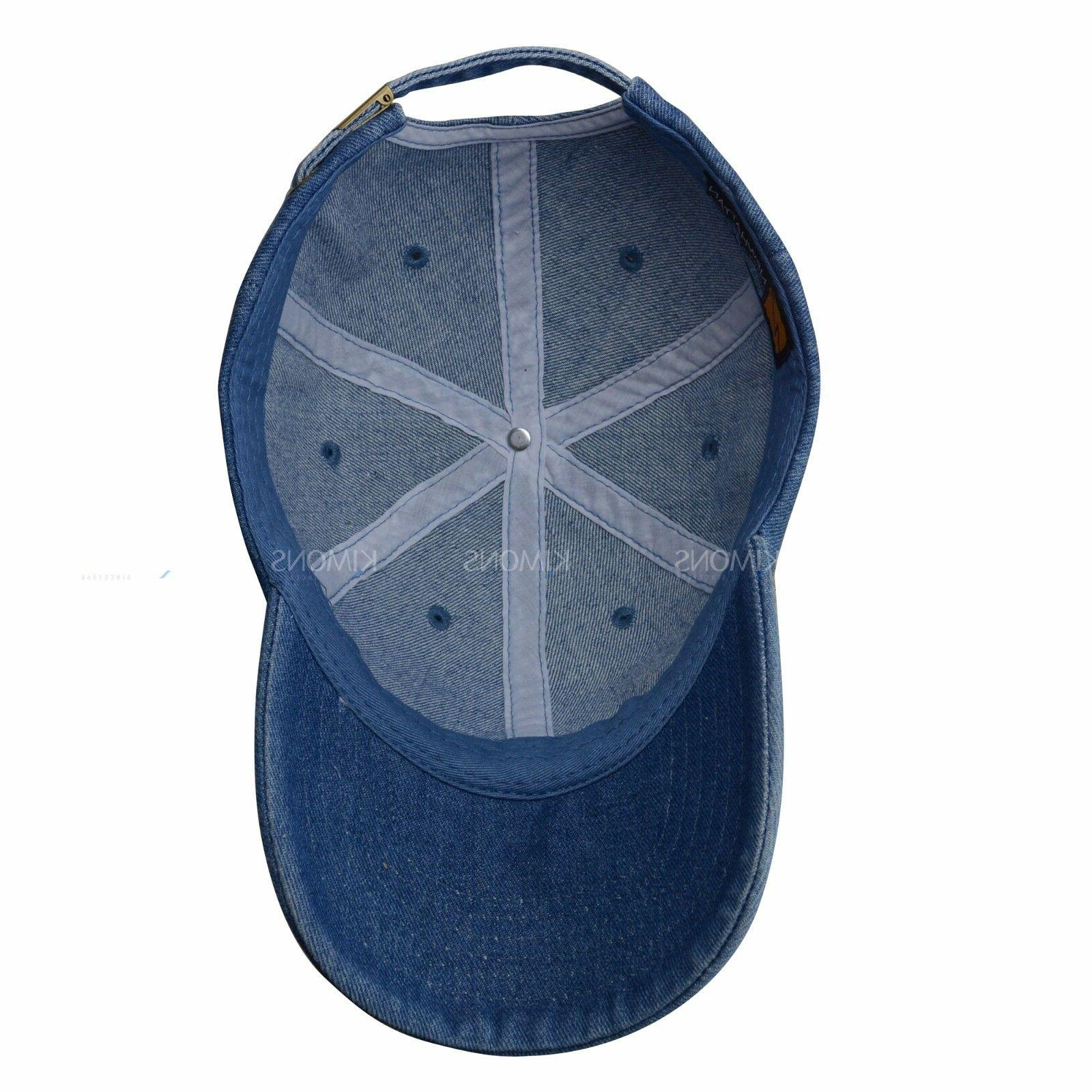 Dyed Washed Cotton Plain Ball Cap 2 Two
