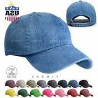 Dyed Washed Cotton New Plain Solid Polo Style Baseball Ball