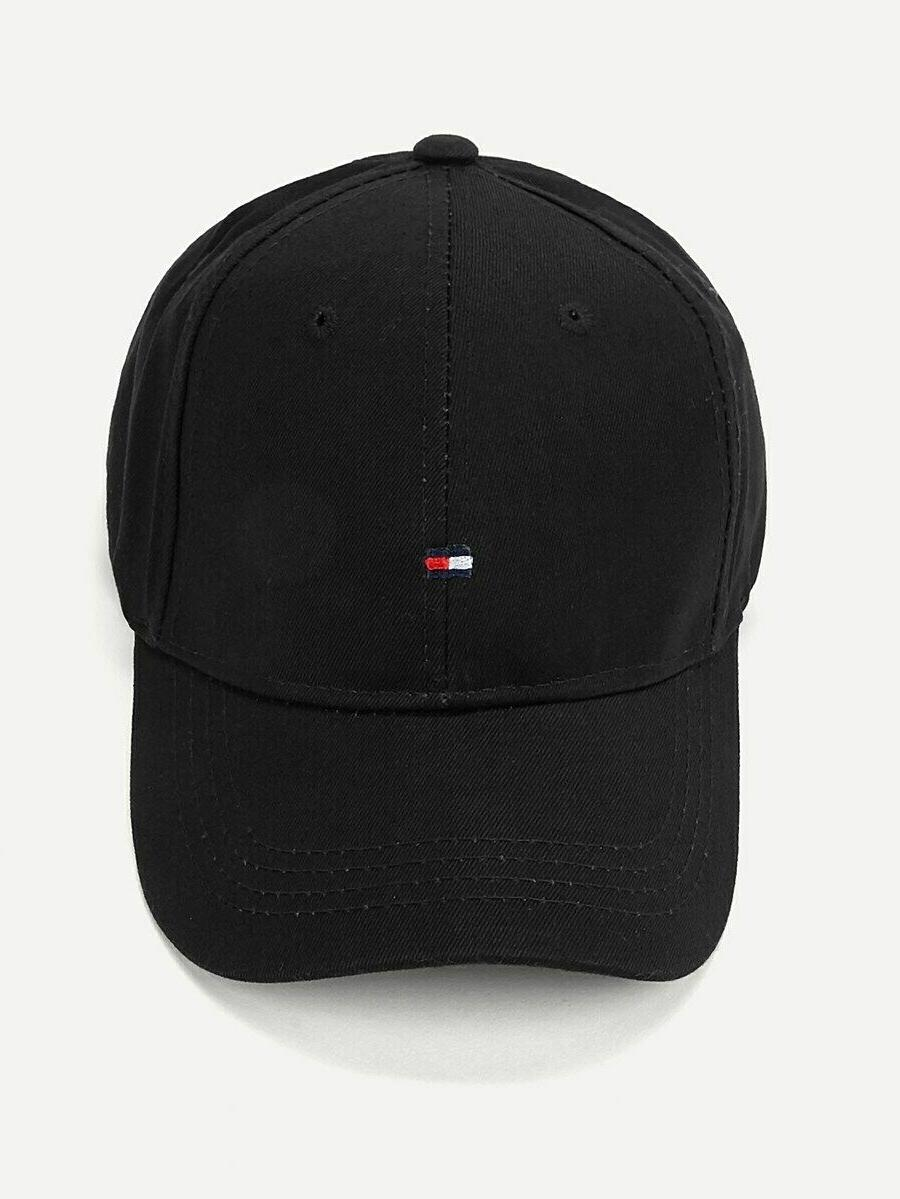Tommy Hilfiger Tennis Golf Ball Adjustable Dad Hat Cap Black