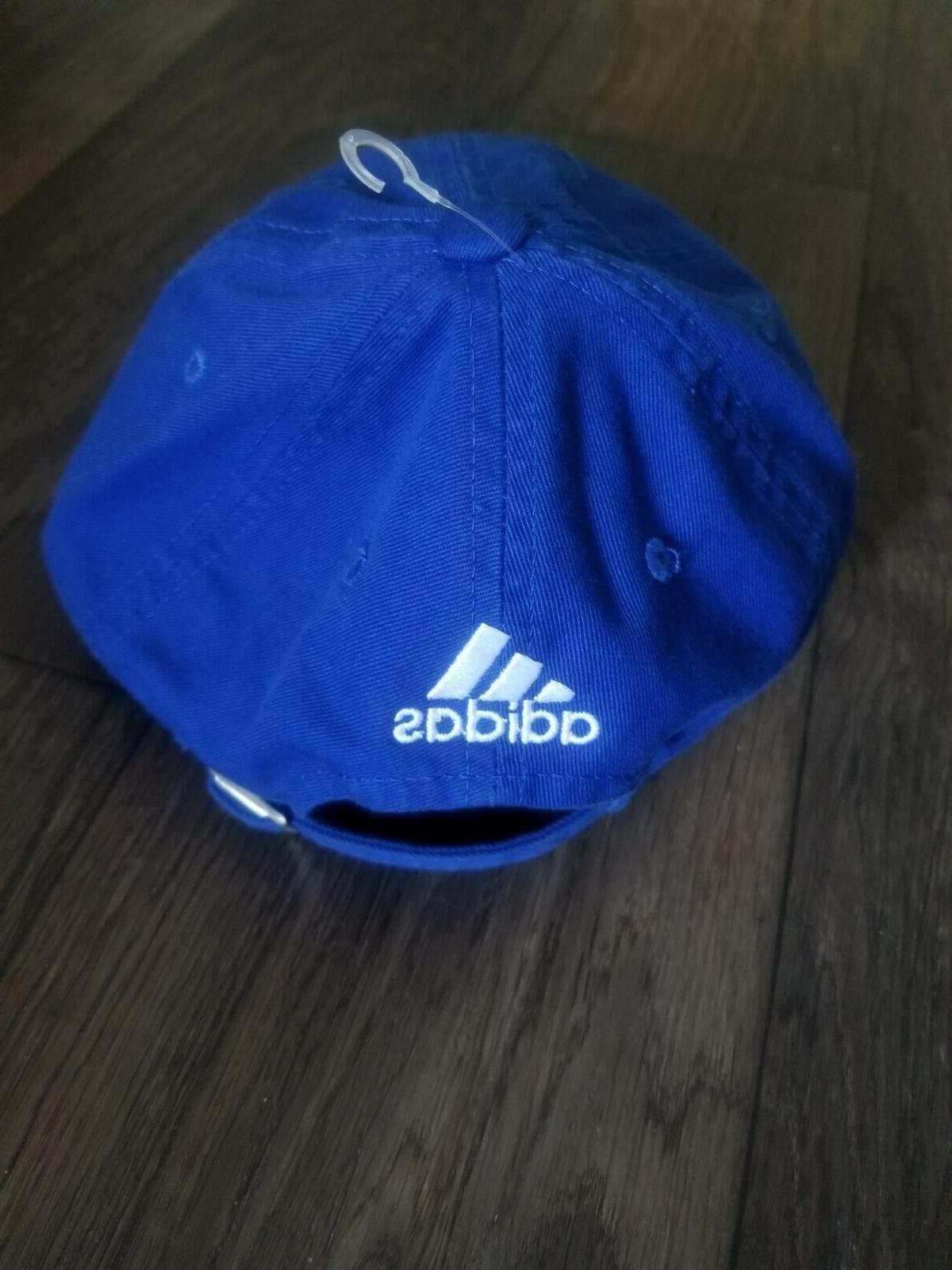 Adidas Hat State Warriors Dad Blue