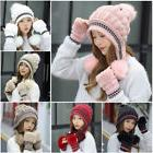 Knit Womens Hats Ladies Winter Beanie Hat Warm Knitted Cap L