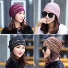 New Women Lady Chiffon Ruffle Cancer Chemo Hat Beanie Scarf