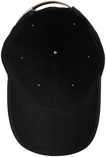 Tommy Men's Logo Dad Black,