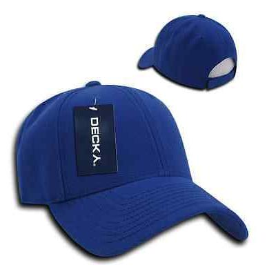 DECKY Low Crown Two Curved 6 Panel Caps