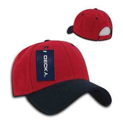 DECKY Plain Two 6 Panel Caps