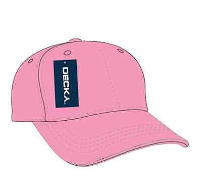 DECKY Low Two Tone 6 Panel Hats Caps