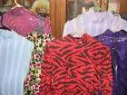 SALE Women M western slinky horse show rail shirt variety co