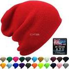 Made in USA - Thick Beanie Skully Slouchy & Cuff Winter Hat