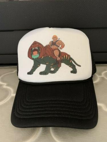 master of the universe trucker hat dad