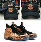 Matching Field Grade Copper NASA Dad Hat for Nike Foamposite