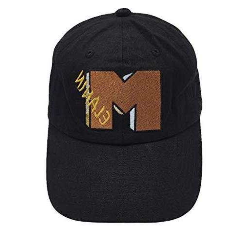 melanin baseball cap 3d letters embroidered dad