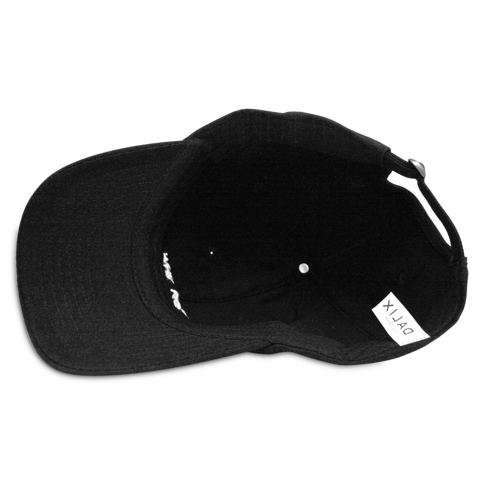 DALIX Womens Hat White Hats Why in Black