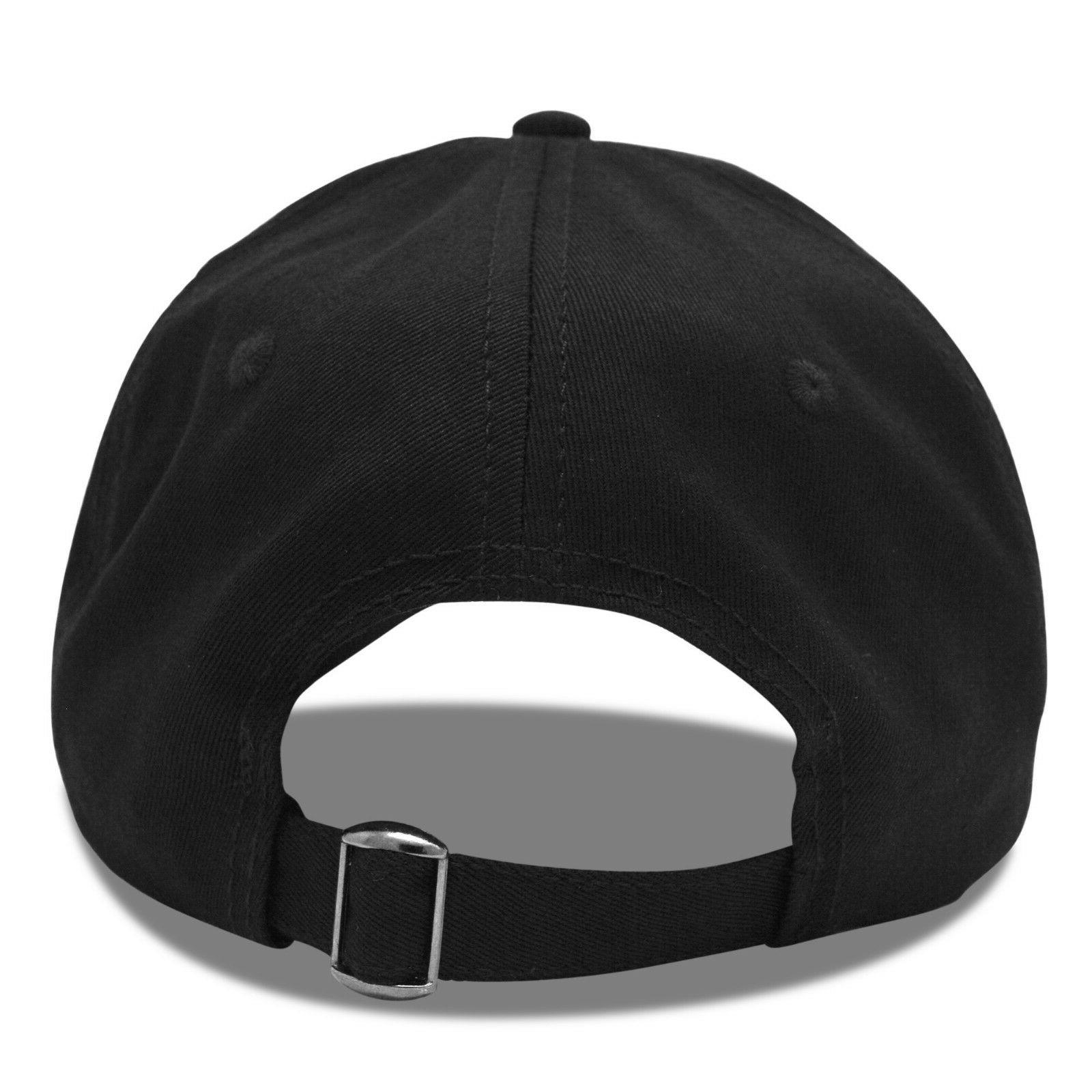 DALIX Womens Dad White Hats Why in Black
