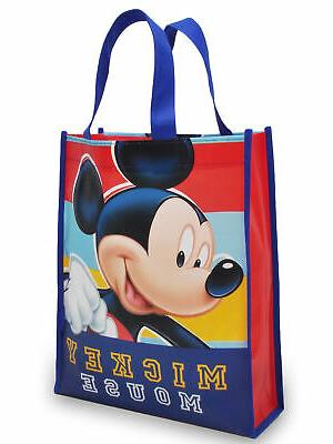 Mens Mickey Hat Reusable Tote 2Pc