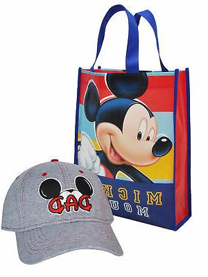 mens mickey mouse dad hat with reusable