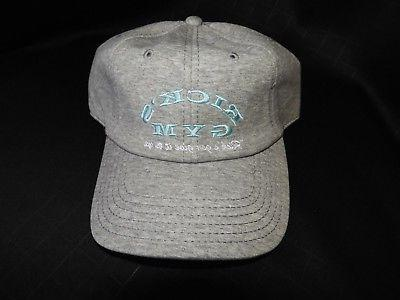 """Mens Rick & Morty Gym Dad """"Rick's Gym"""" ONE SIZE Cap, NEW W/"""