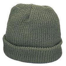 Foliage Green Military Watch Cap  USA Made