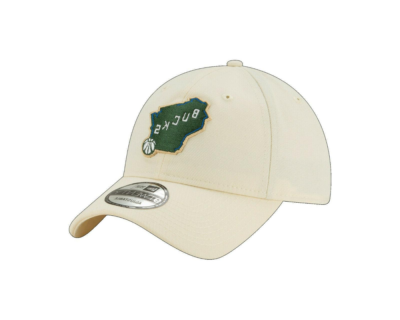 Milwaukee Bucks New 9TWENTY NBA Strapback Cap Hat Series