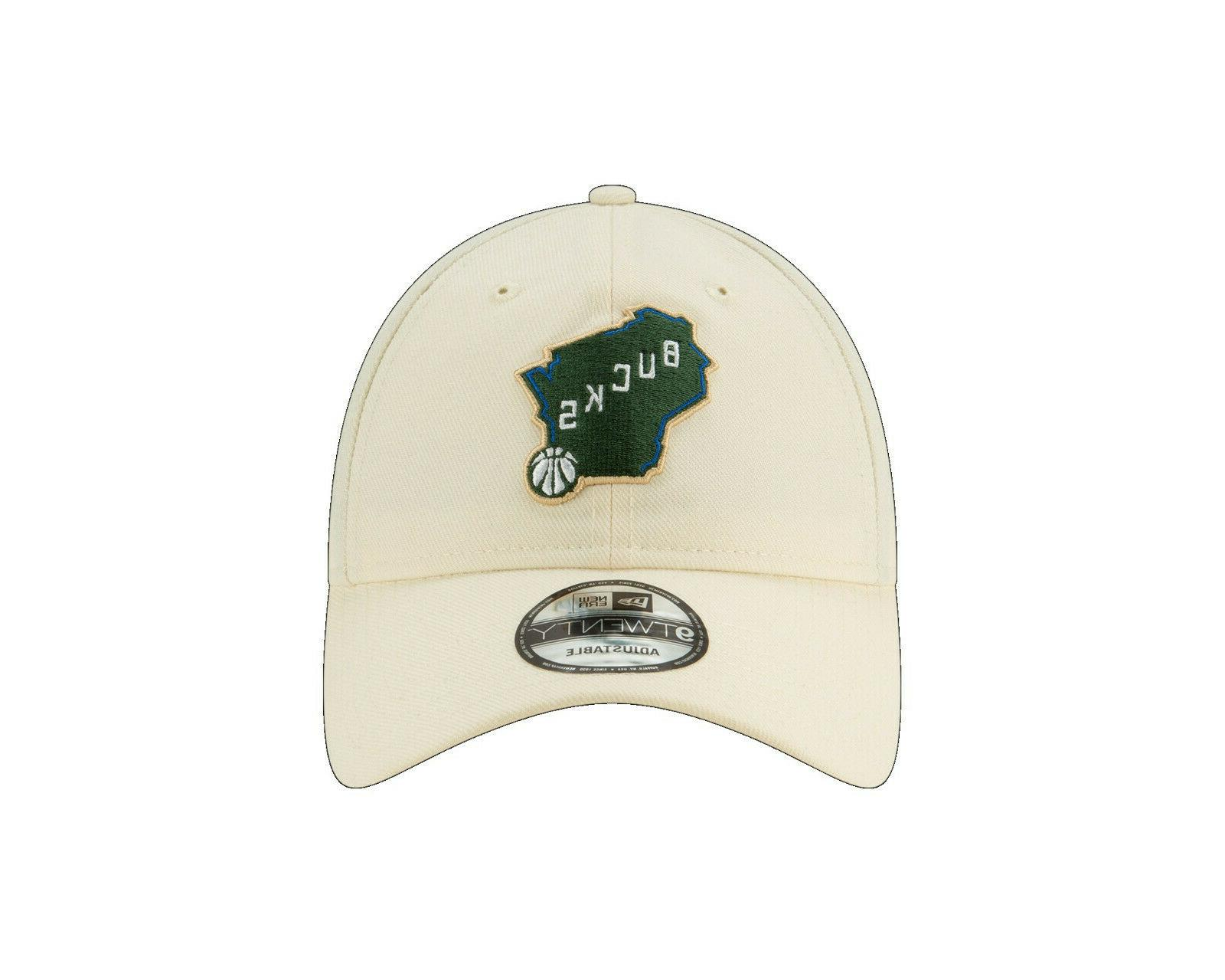 Milwaukee 9TWENTY NBA City Strapback Dad Series