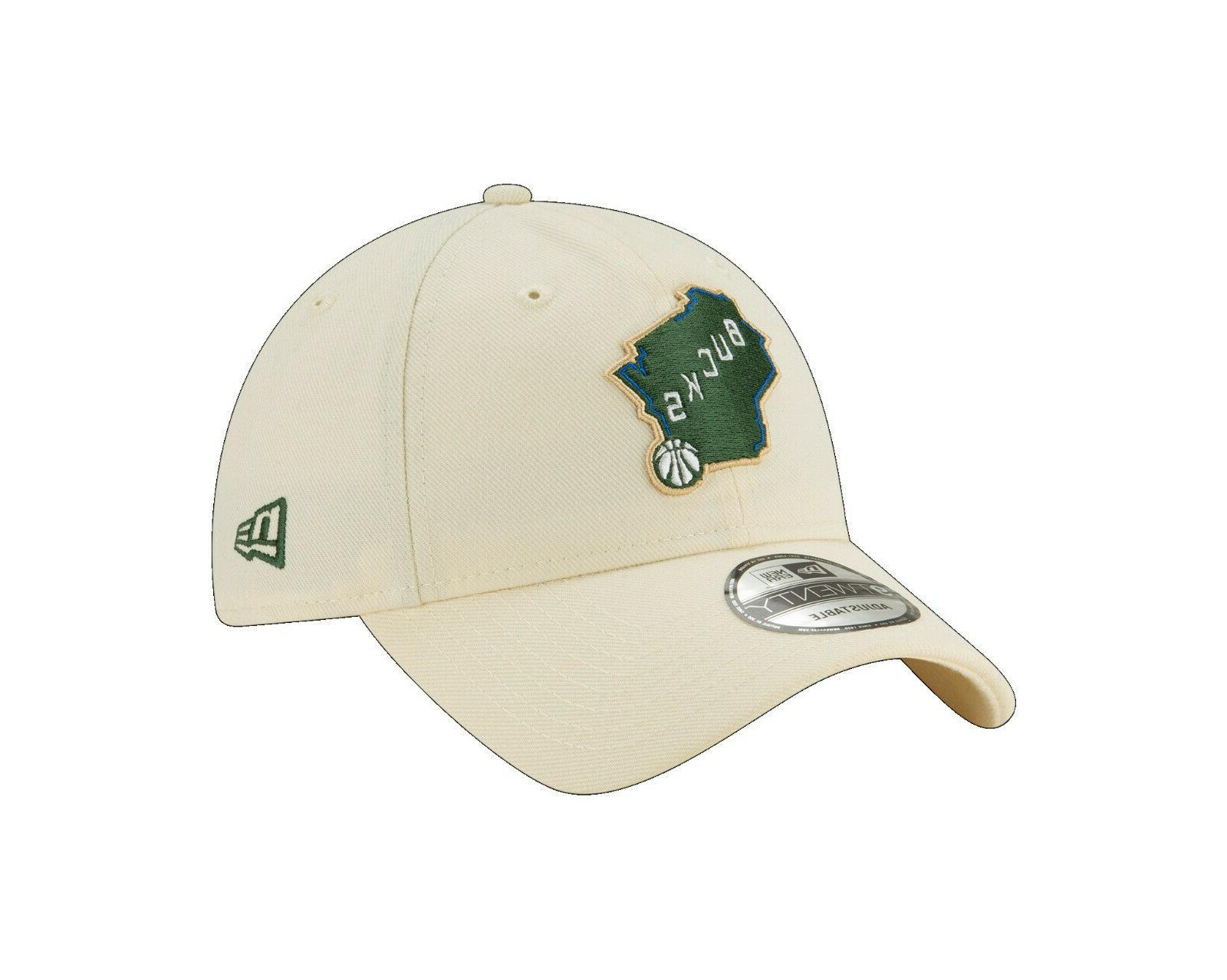 milwaukee bucks 9twenty nba city edition strapback