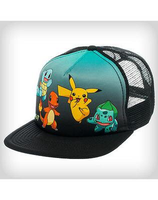 New Pokemon Trucker Bioworld Hat