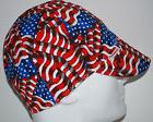 NWT Welding Cap Welders Hat Comeaux Caps STARS AND STRIPES R