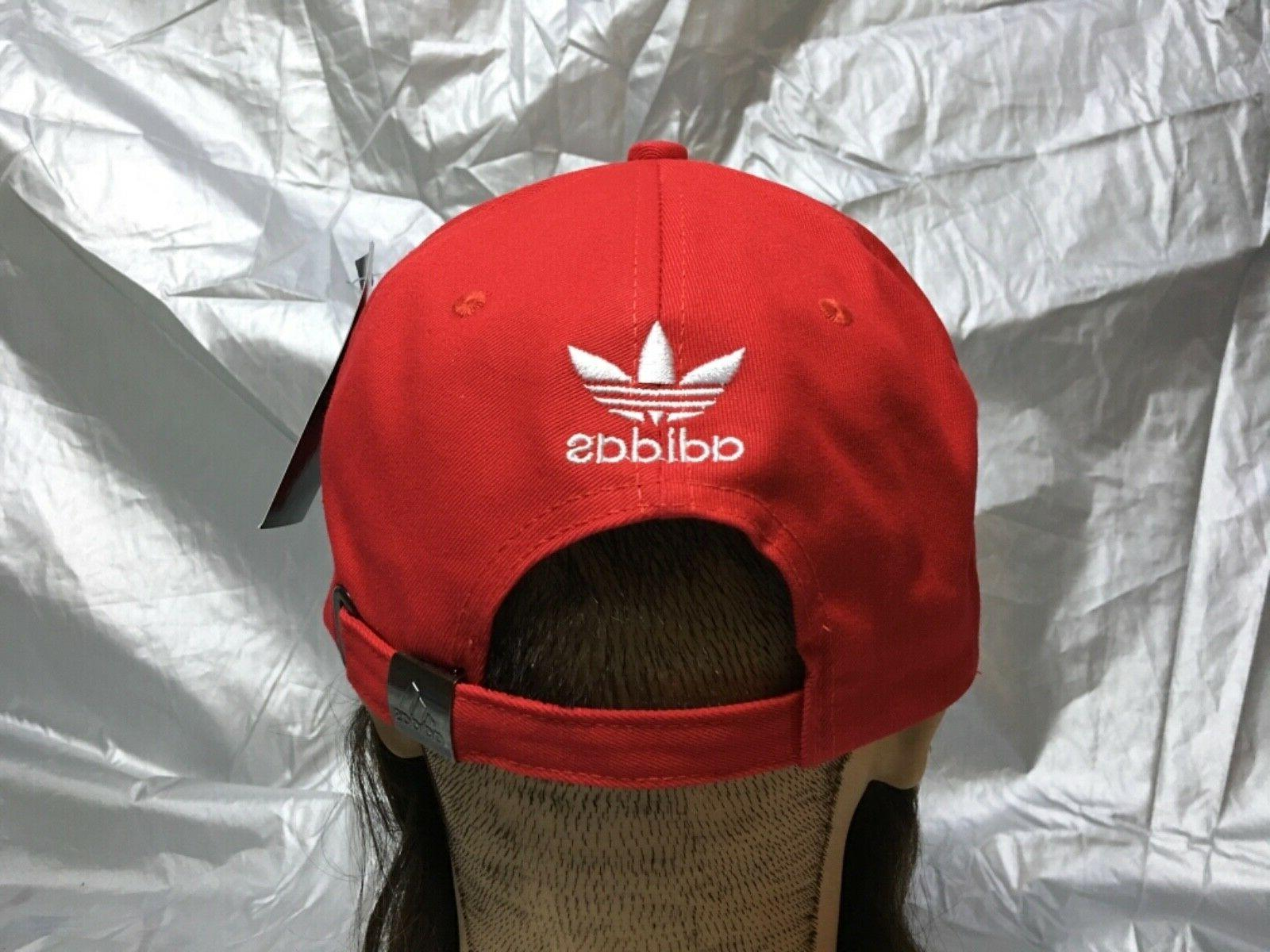 adidas Baseball Brim Red