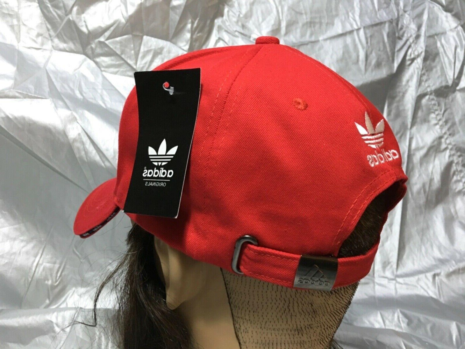 adidas Baseball Brim Dad Red w/Emblem