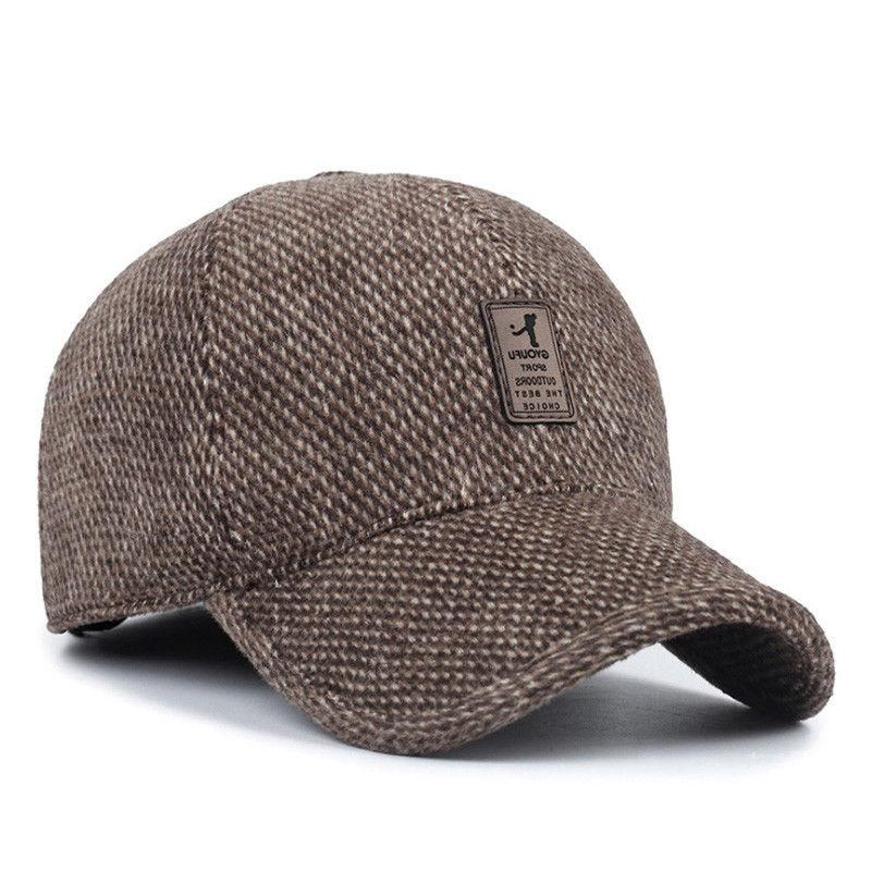 Plaid Cap Flaps Winter Dad Hat AET5000MM